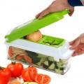 12合1多功能切菜百寶箱:刨絲、切粒、切條、磨蓉,通通都得